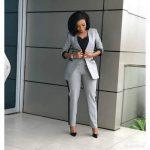 Office Wear (Trouser Suit)