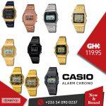 Casio Alarm Chrono