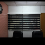 First Class Black Zebra Window  Blinds Curtains