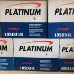 Platinum Car Battery (17 Plate)