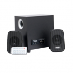 Triple Power Smash Wood Multimedia Speaker