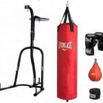 Boxing Stand New Punch Bag Speedball Gloves