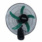 "Mikachi MIK-3260 Wall Fan – 18"" Black"