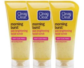 clean and clear face scrub