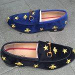 Gucci Suede Shoes (Star Design)