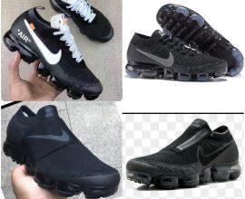 black nike vapormax
