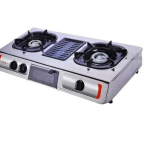 Akai Table Top Gas Cooker With Grill 2 Burner