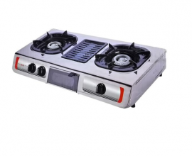 table top gas cooker with grill