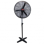 "Mikachi  Industrial Standing Fan – 30"" Black"