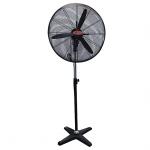 """Mikachi  Industrial Standing Fan – 30"""" Black"""