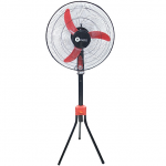 "Vizio MIK-1831 Standing Fan – 18"" Black/Red"