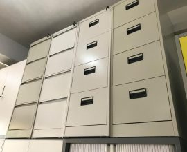 4 drawer metal filing cabinet