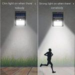 Waterproof Wall Solar Motion Sensor Light