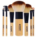 Shandy Bamboo 7 Piece Vegan Synthetic Brush Set