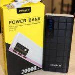 Demako A38 20000mAh power Bank