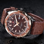 Naviforce 9056 Leather Watch