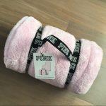 VS PINK Cozy Blanket Plush Throw Strap