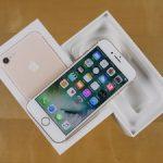 iPhone 7 128GB New,gold black