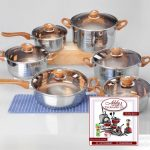 Stainless Steel Cookware Set (6 Pcs)