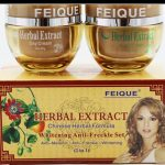 Herbal Extracts Whitening Anti-Freckles Face Cream