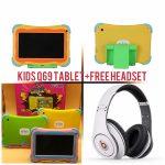 Gtab Q69 kids tablet+free headset