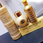 Final White Gold Lotion Serum,Face Cream and Tube