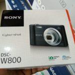 Sony DSC-W800 20.1MP digital camera with case