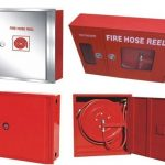 Fire Cabinet Flush Mounted With Hose Reel