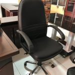 Quality leather pvc swivel chair