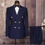 Dark Blue 4 Button Suit