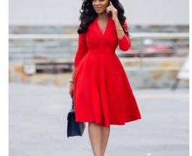red office wear