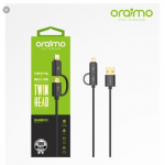 Original Oraimo 0OCD-D101 2 in 1 Lightning USB Micro Cable For iPhone and Android