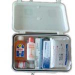 Small First Aid Kit Plastic Box