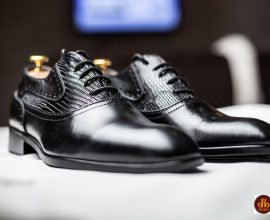 mens black oxford shoes