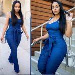 Jeans Jumpsuit For Ladies