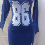 Blue New York Dress