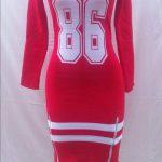 Red New York Ladies Dress