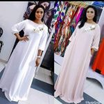 White Kaftan (Available In Pink Too)