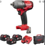 MILWAUKEE-Torque Impact Wrench-1/2 Inch