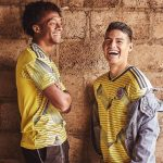 Colombia 2019 Copa America Home kit ( Male and female kits )