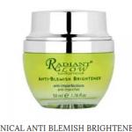Radiant Glow Botanical Anti Blemish Cream