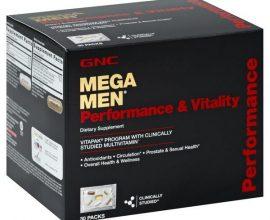 gnc mega men performance and vitality