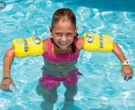 kids swimming floats
