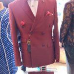 Mens Wine Suit