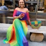 Rainbow Long Dress