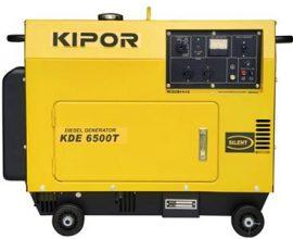kipor diesel generator kde6500t in ghana