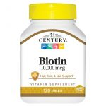 Biotin 10,000 mcg For Hair,Skin and Nails
