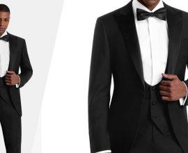 black tuxedo 3 piece