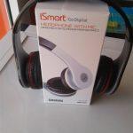 Original Ismart Go Digital Headphone With Mic
