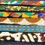 BLUE CITY African print flying tie – Wholesale only